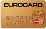 Eurocard Gold betalkort