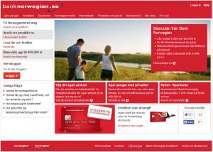 banknorwegian.se kort