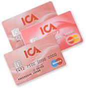 ICA kort