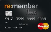re member flex kreditkort