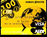 FOREX Betal- och kreditkort