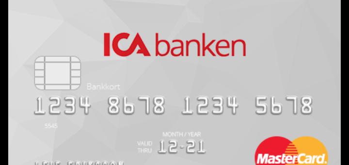 ICA Banken kort utomlands - växlingspåslag införs på ICA-kort!